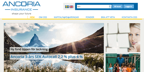 ancoria insurance fonder